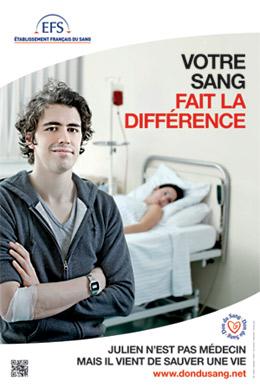 Lancement de la campagne d?appel aux dons de l?Etablissement Fran�ais du Sang