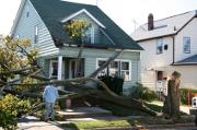 Catastrophe sur une habitation