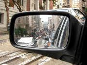 rétroviseur-voiture-rue