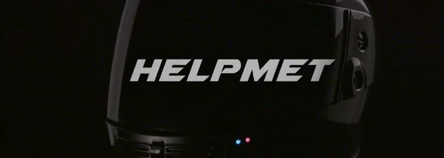 Un casque pour deux-roues qui avertit les secours en cas d'accident