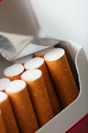 Chute des ventes de tabac