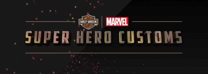 Les super-héros Marvel ont des Harley-Davidson à leur image