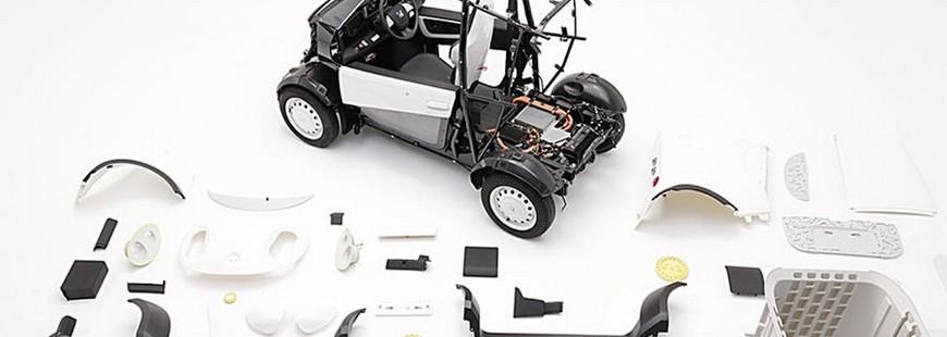 Honda se lance dans l?impression de voitures en 3D