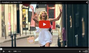 Le Génie : 2ème publicité Youtube présentée par Assurland.com