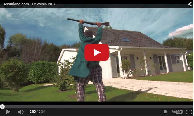 Découvrez la publicité habitation d'Assurland sur Youtube