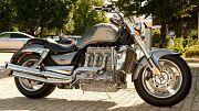 Un moto de la marque Triumph en vente aux enchères