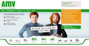 AMV dévoile un site flambant neuf en responsive