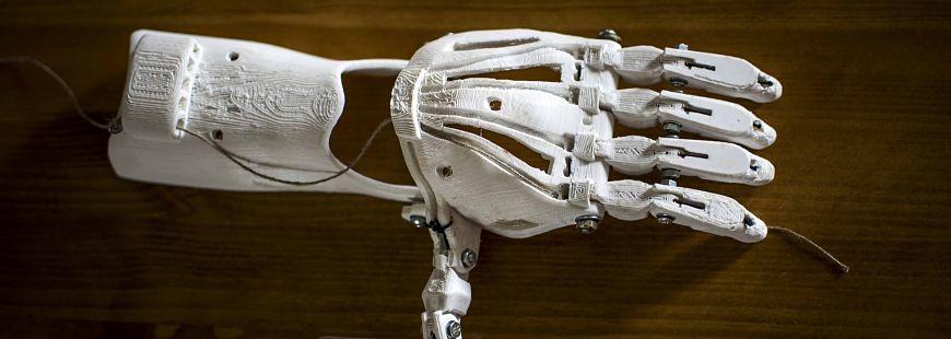 Construire des prothèses de membres en 3D, l'avenir de la médecine ?