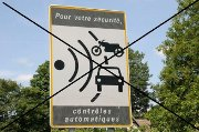 Signalisation des radars