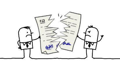 Pour résilier, envoyez une lettre recommandée avec accusé de reception !