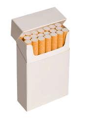 Sant� : le paquet neutre de cigarettes