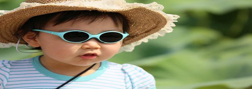 Votre enfant a-t-il de bonnes lunettes de soleil ?