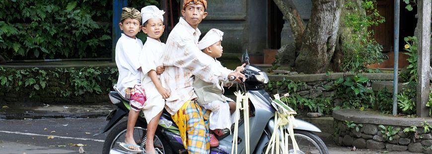 Les vols de scooters sont gravement sanctionnés à Bali