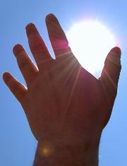 Explosition au soleil : protégez votre peau !