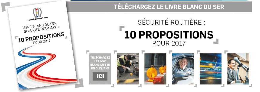 Découvrez les 10 propositions du Syndicat des équipements de la route
