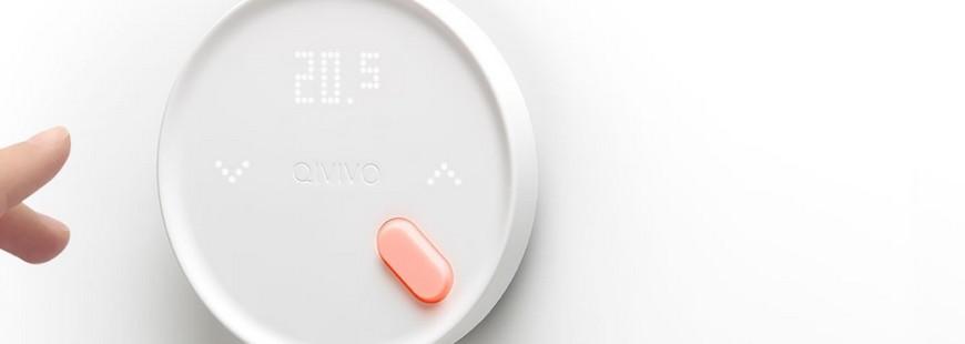 Le thermostat connecté Qivivo pour gérer le chauffage de son intérieur