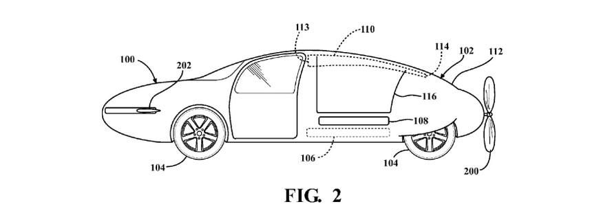 voiture volante   validation d u0026 39 un brevet toyota